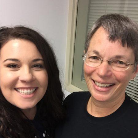 Levi Community Day Kathleen Hawing & Elise Richieri