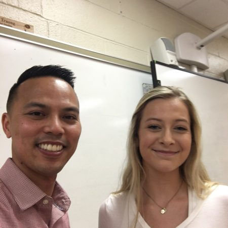 Bethany and Mr. Truong