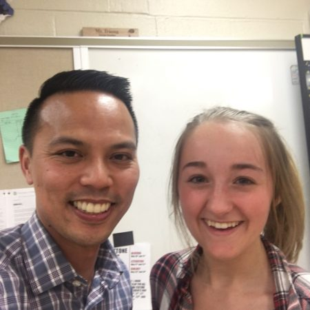Ellie and Mr. Truong