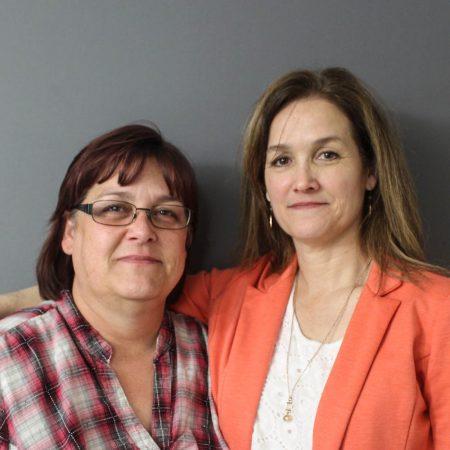 Glennette Rozelle and Jennifer Mack