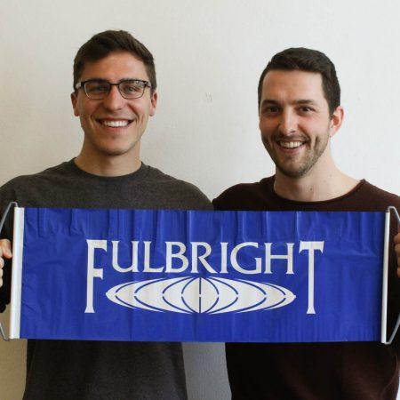 Fulbright Stories: Mason Winkie and Josh Tulloch