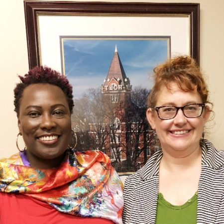 Stephanie and Amy - Our NACADA Advising Stories