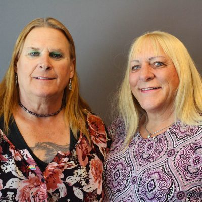 Sue McConnell and Kristyn Weed