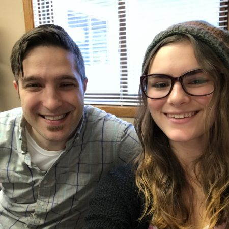 Craig Coe and Emily Woods