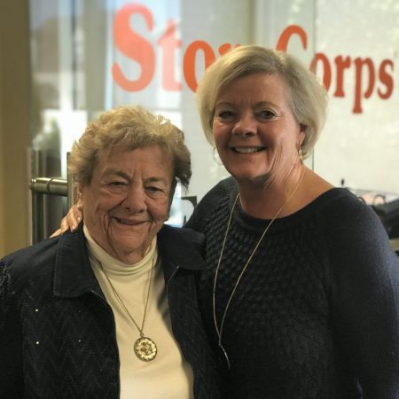 Susan Broeren with Jane Lambesis