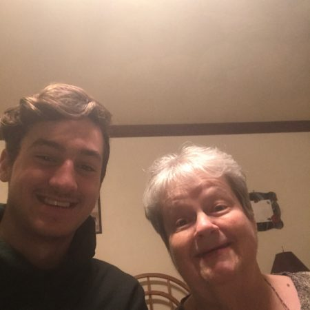 Nicholas Mattivi and grandma talked about growing up and her many jobs