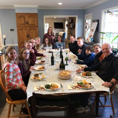 Thanksgiving 2018 in Delaware with the Twining and Tauras Families