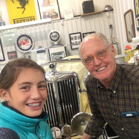 Bel Monteith interviews her Grandpa and they talk about his childhood in the delta and life adventures.