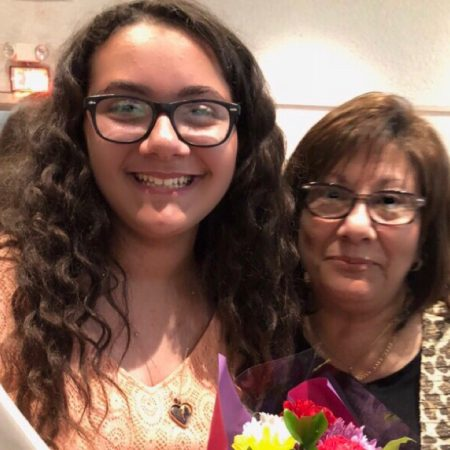 Grandmother shares important life lessons with her granddaughter, Ava Mesita