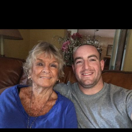 Zachary Richter and his grandmother, Helene Richter