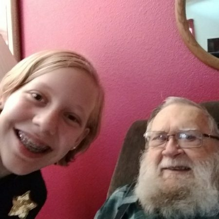 An interview with my less talkative grandparent.