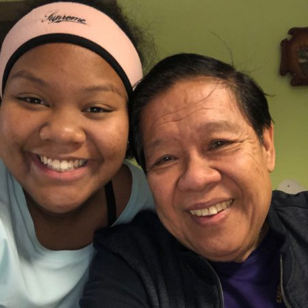 Janelle Spencer-Ramirez and her Grandpa talk about his life before emigrating to Chicago and his life in Chicago
