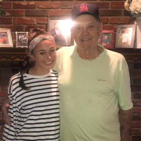 Nora Burton talks to her grandfather Darrell White about his life.