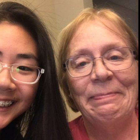 Grace Yang interviews her neighbor Patti about her childhood (GTL 2018 Rollet)