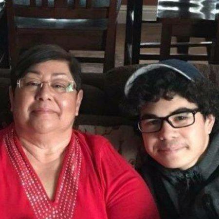 Kap and Mom