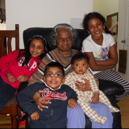 The Great Thanksgiving Listen with Praaghya Meyyan (granddaughter) and Sakunthala (grandmother)