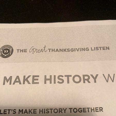 The great Thanksgiving listen interview: Cristi Franklin