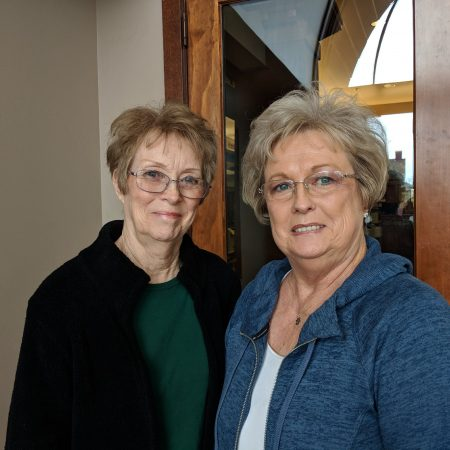 Sisters Ann Jacobs and Susan Jolley used the St. George Library as both children and adults, passing the love of reading to their children
