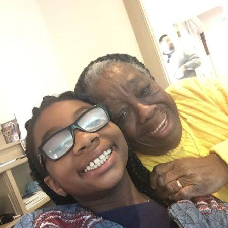 Grate Grandma and me