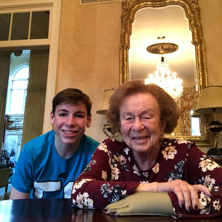 Mason Gronauer and his grandmother Honey Scheidt talk about her life in Memphis, Tennessee.