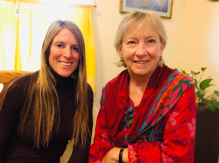 """We had the spirit of working together"" - founding parent of Santa Cruz Waldorf School, Alison (Keeler) Carrillo"