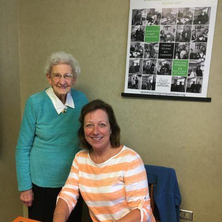 Clara Togtman with Patty Gleason