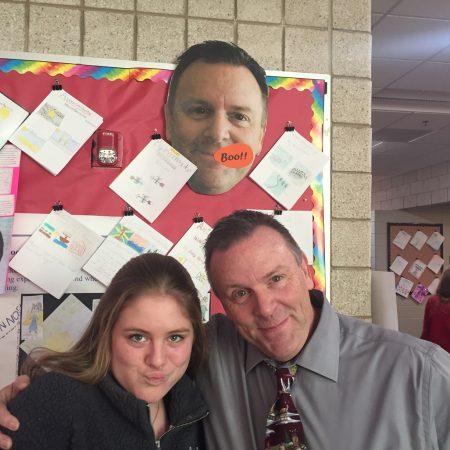 Emma Grace and Mr. Raugewitz- 6th Grade Math, College Stories, and Snowman Jokes