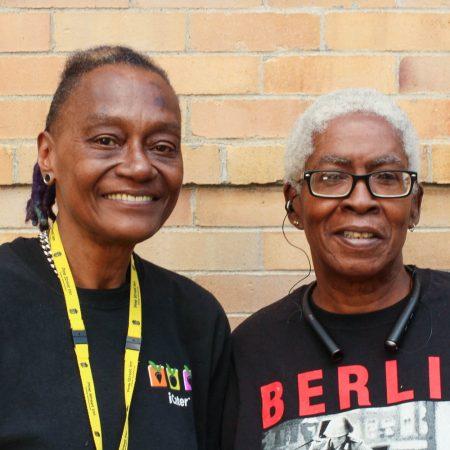 Jeanne Satterfield & Barbara Parham