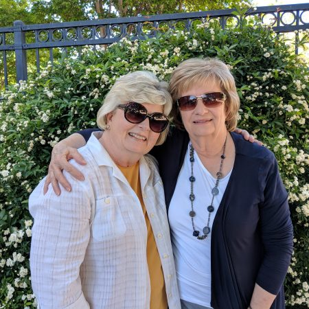 Lifetime friends Leslie Johnson and Cynthia Shepherd spent many hours together in their youth at the St. George Library