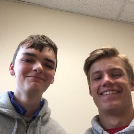 Sammy Millward and Luke Brechbuhler