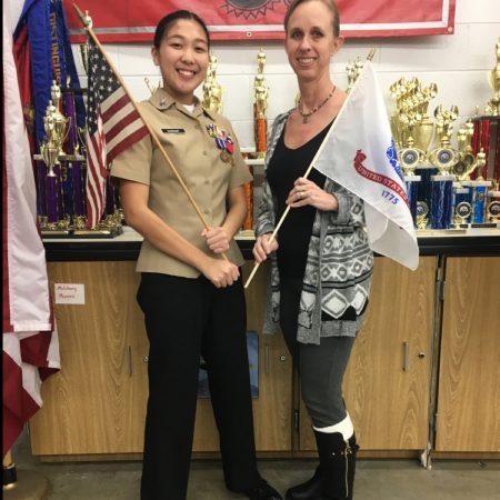Salem High School NJROTC Vets to Cadets - Specialist Rheinsmith