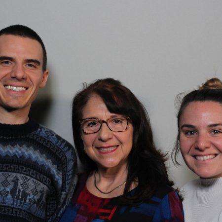 Elsa Soledad  Penaherrera-Collins, Theodore Collins, and Sabrina Collins