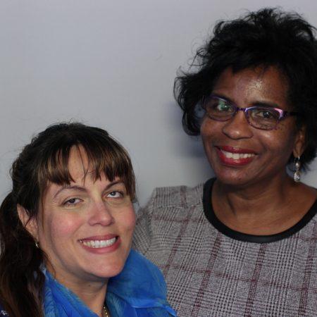 Karolyn Campbell and Lorelei Anderson-Francis
