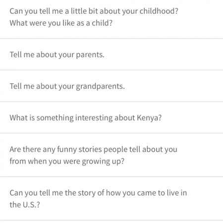 Loice - Kenya, immigration, drinking stories