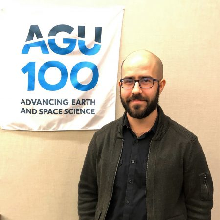 """""""The moment that put me on this path was an intro to Geology course."""" an interview with David Lagomasino"""
