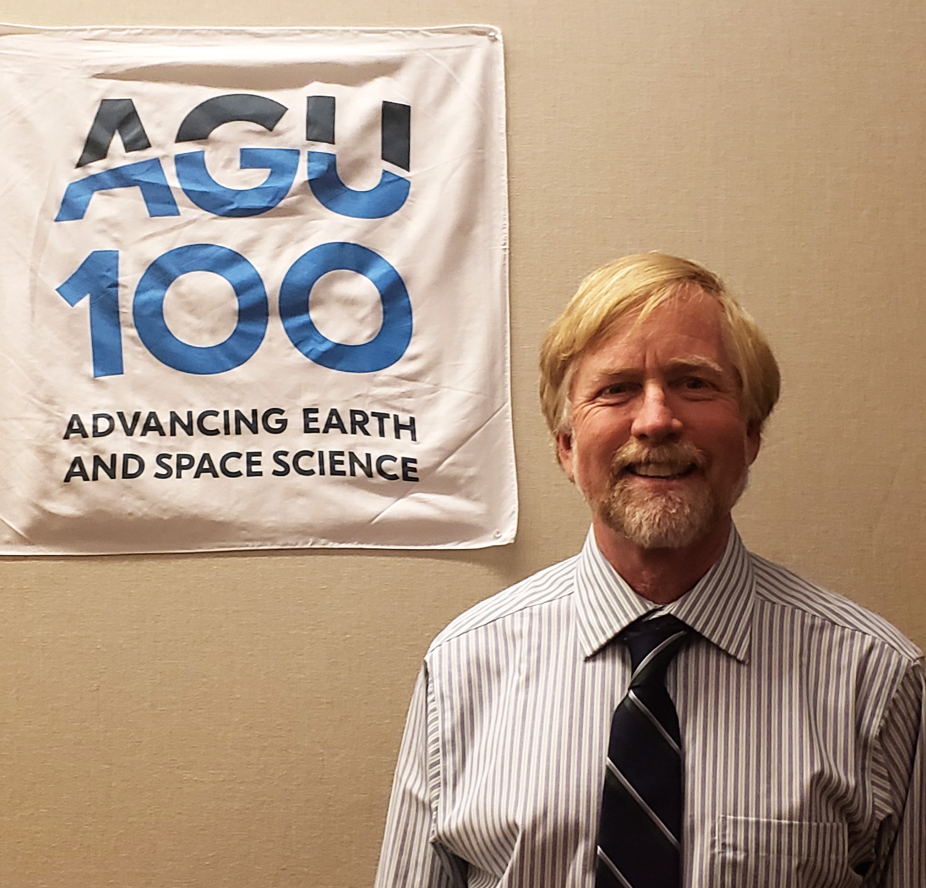 """""""For Hydrology, for the water side of the world, AGU is our home."""" an interview with Scott Tyler"""