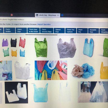 plastic bag showdown