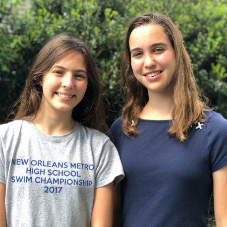 Zoe & Claire: Waldorf School of New Orleans Alumnae & BFFs
