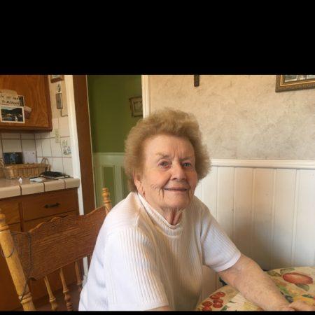 Margaret Cronin in the kitchen at 323...