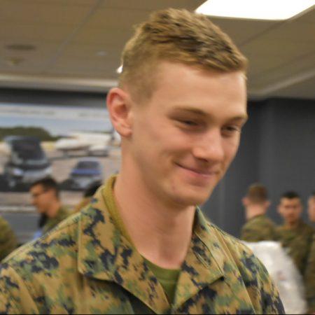 Marine Reservist Lance Corporal Devin Taylor