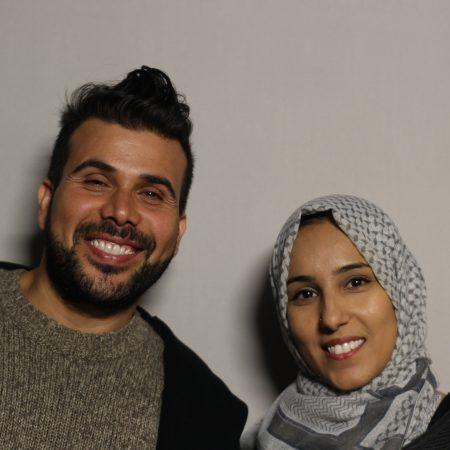 Yacoub Aljaffery and Hawra Alnabi