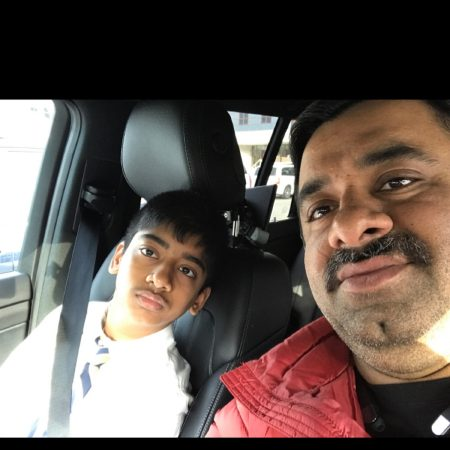 Krish's interview with his dad