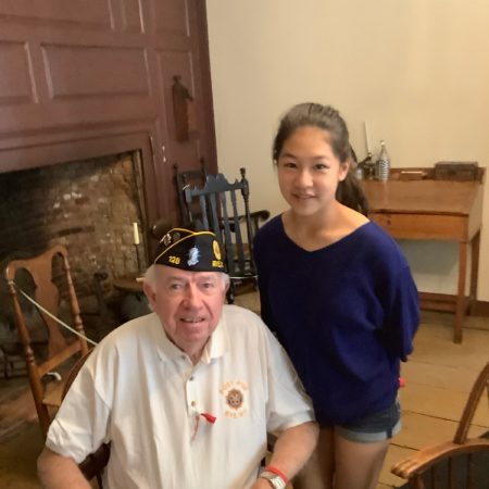 Interview with Thomas Seaver. Retired Navy officer