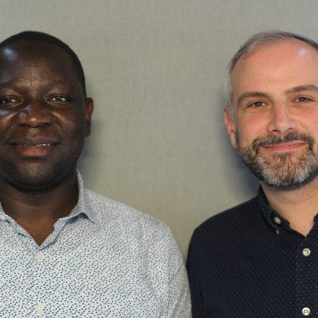 Augustin Ntabaganyimana and Jason Crislip