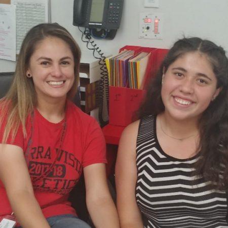 MS. GUERRERO & ANGELICA GARCIA