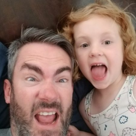 Father's Day 2019 - David (41) and Avery (5)
