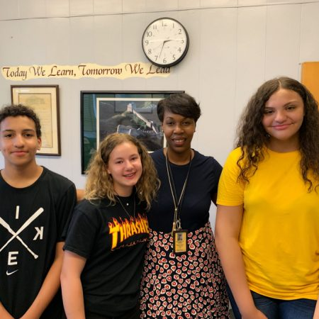 Interview with Antoinette Emden; Principal of Thomas Jefferson Middle School