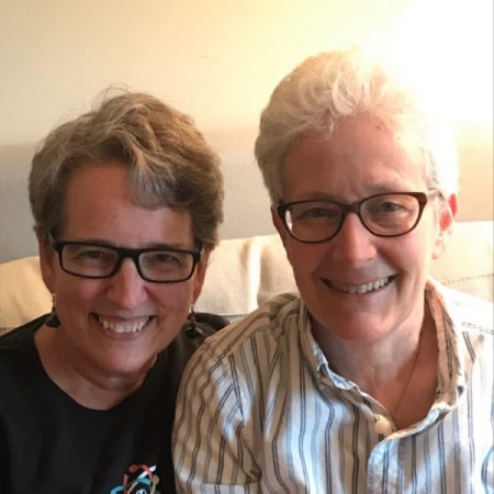 Julie Kaufman and Beth Wright for Stonewall OutLoud