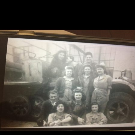 Delia Degnan, family members in military