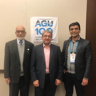 Geological stories run in families, inspiring the next generation. An interview with Alik Ismail-Zadeh, Ramesh Singh, and Ritesh Gautam